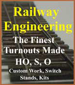 Railway Engineering - Fine Turnouts.