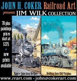 Railroad Art by John Coker